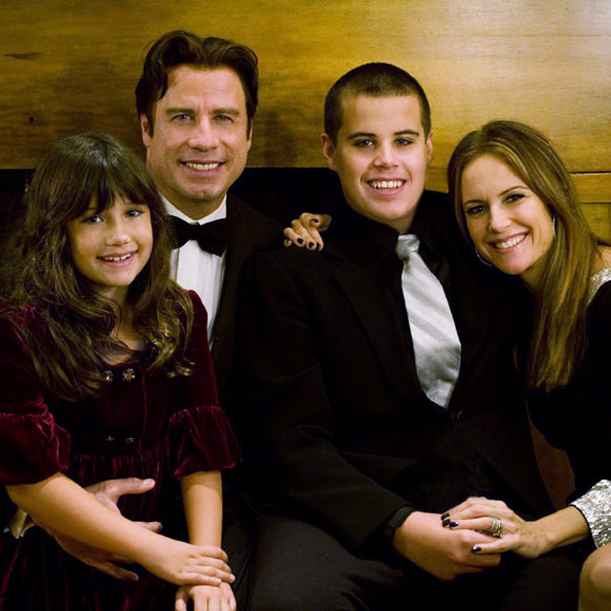 John Travolta Son Jett Getty Images