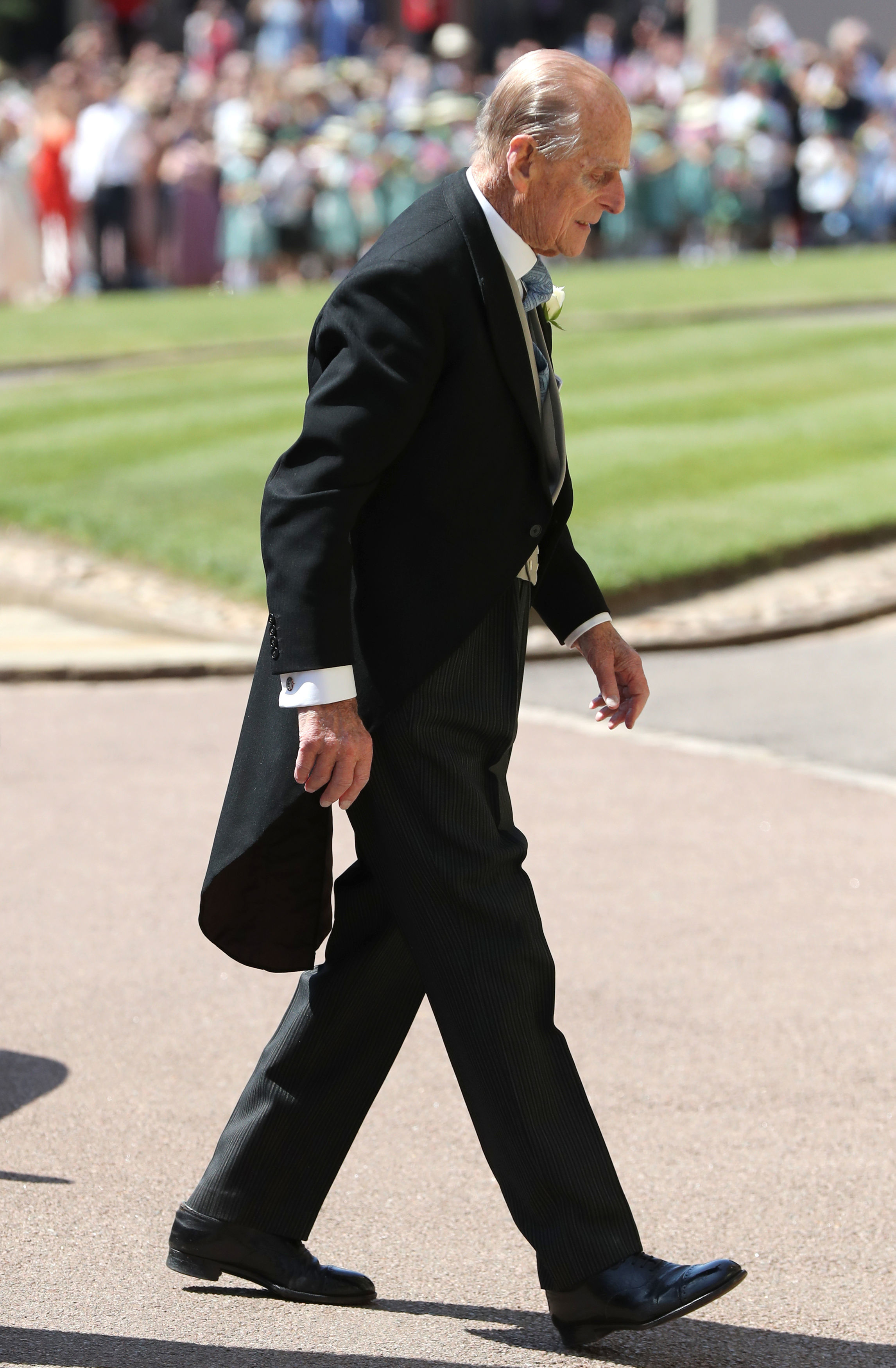 Prince Philip Walks Getty Images