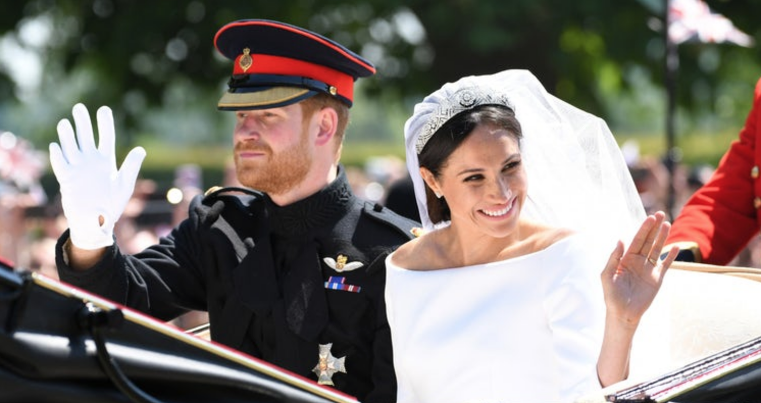 The Best Prince Harry And Meghan Wedding Pictures