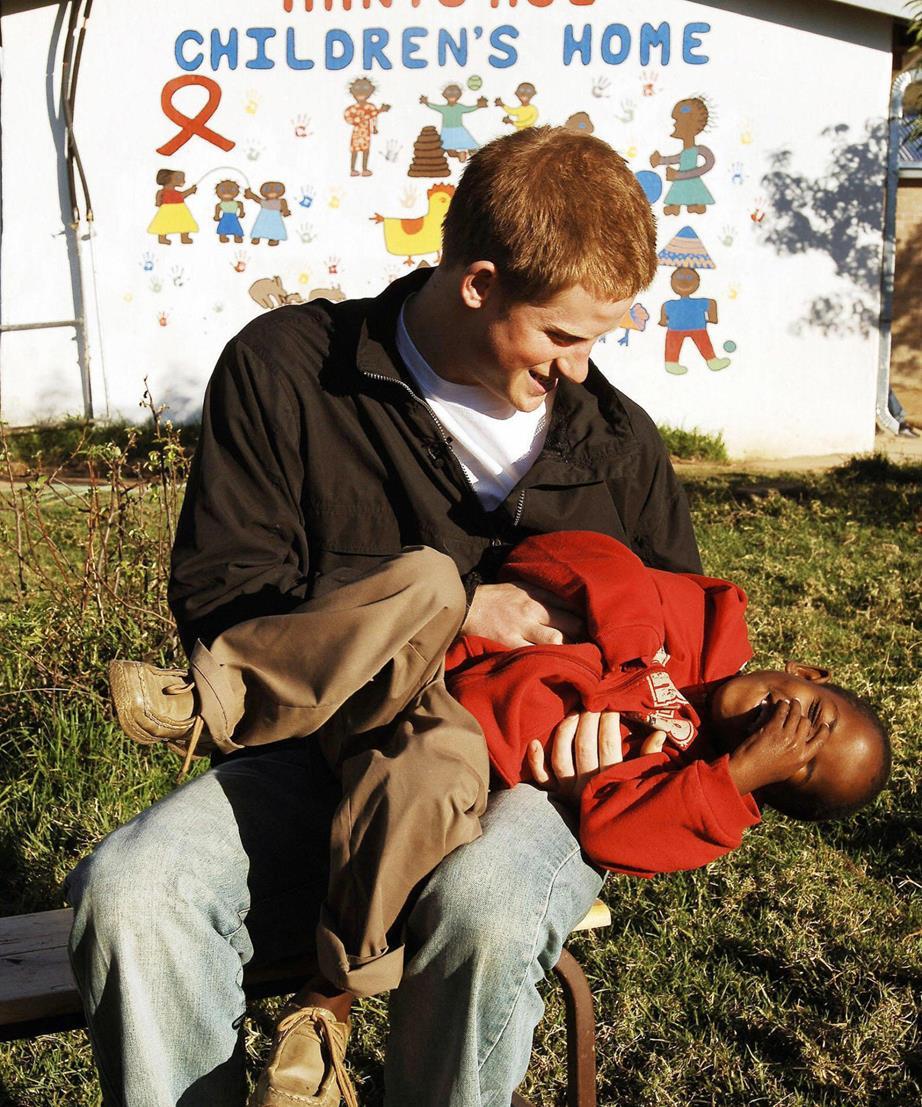 Prince Harry African Orphan NTL