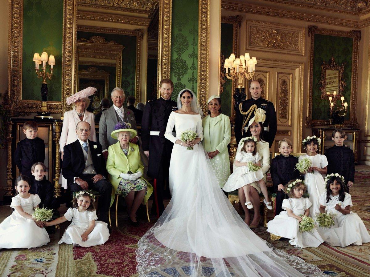 Lubomirski Royal Wedding Portrait Royal Family Twitter