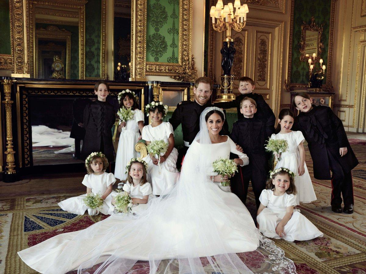 Royal Wedding Portrait Bridal Party Twitter