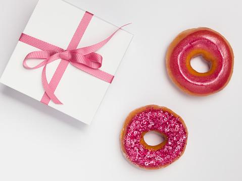 DIY Glitter Donut