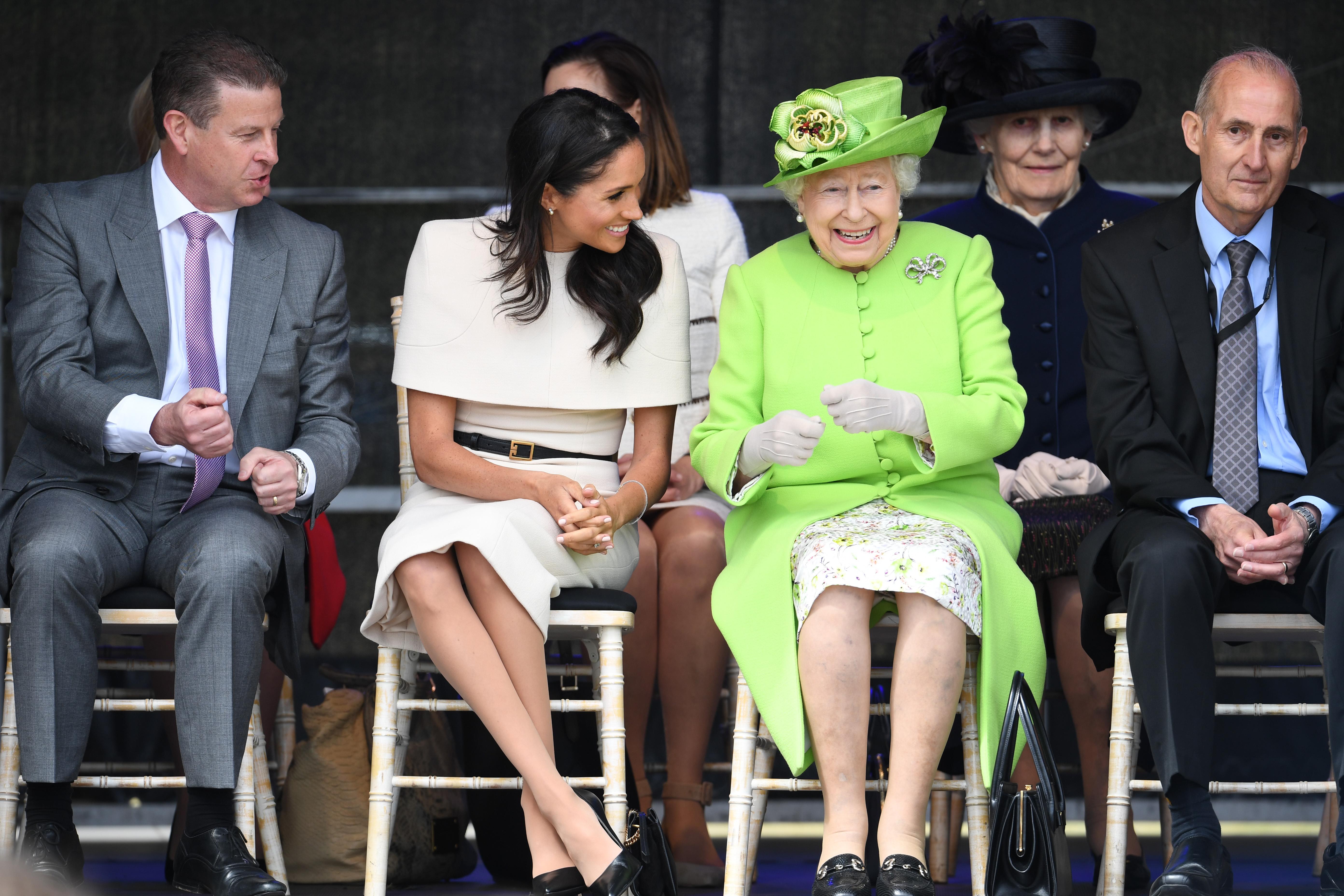 Queen Elizabeth Meghan Markle
