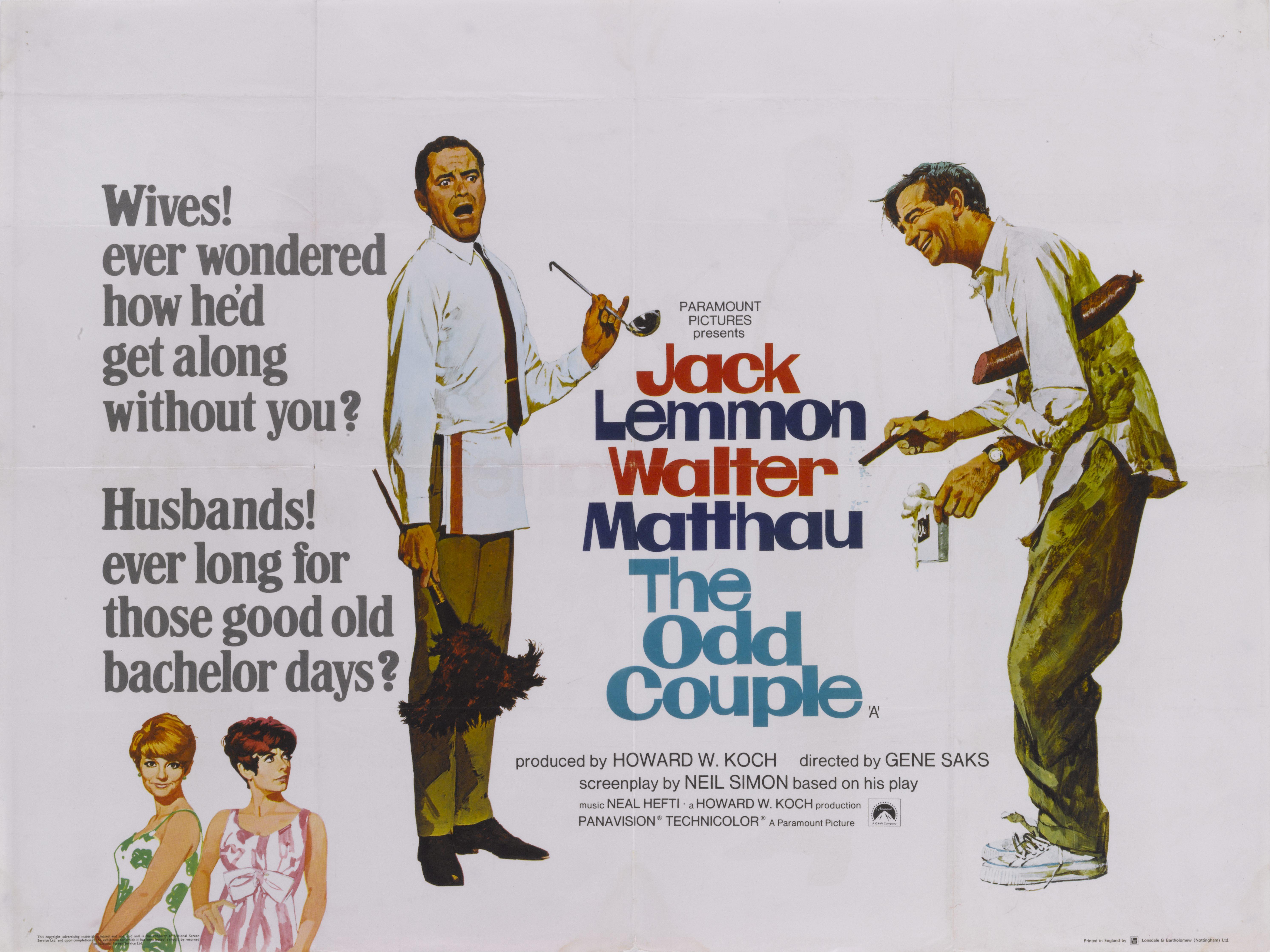 Odd Couple Poster