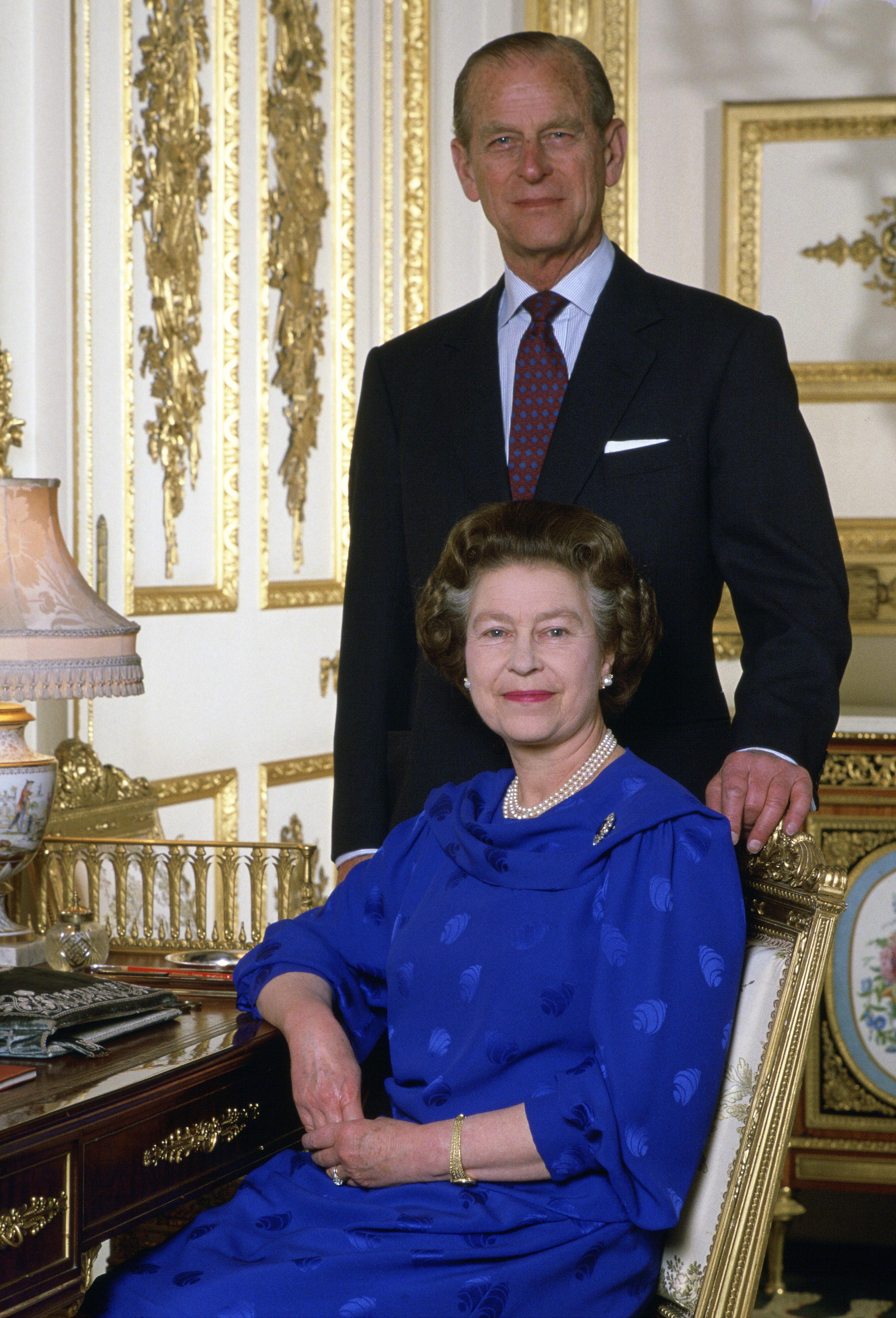 Queen Elizabeth Prince Philip Love 1980s Getty Images