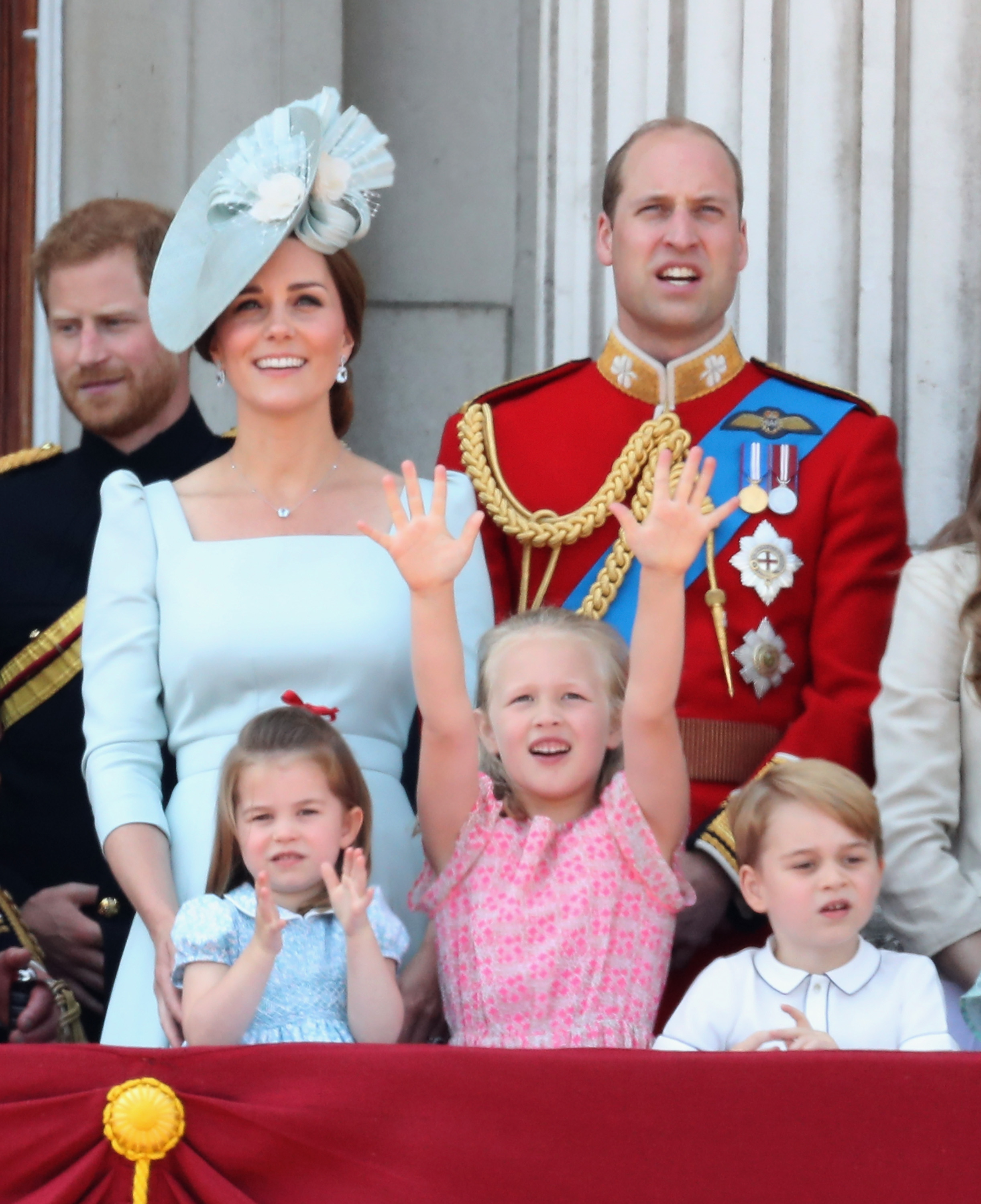 Savannah Philips Trooping the Colour Getty Images