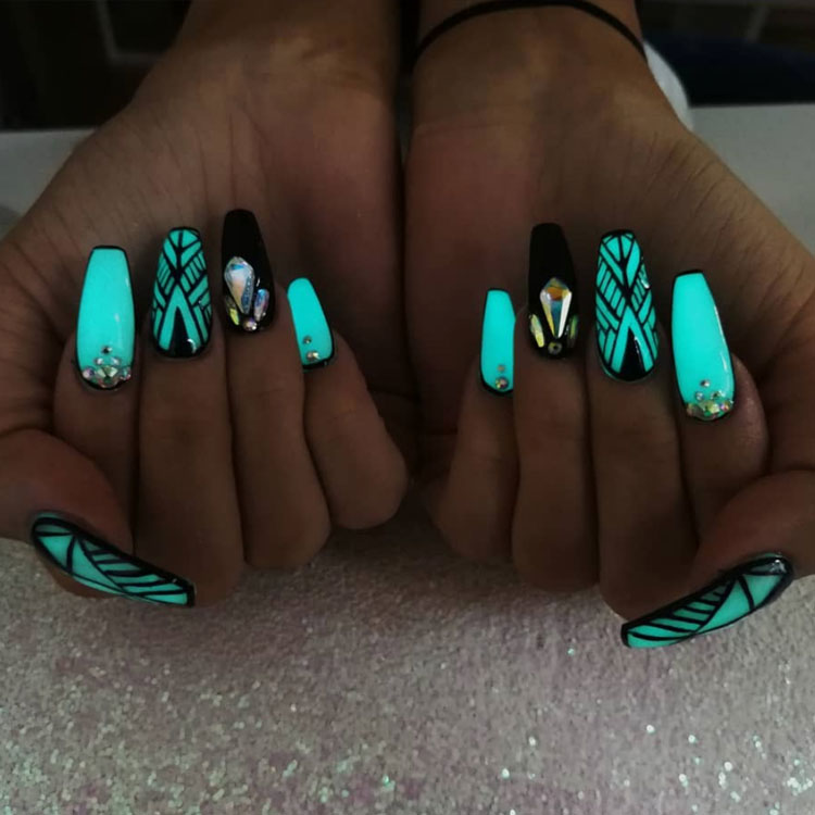 The Best Glow in the Dark Nails to Light Up Your Life