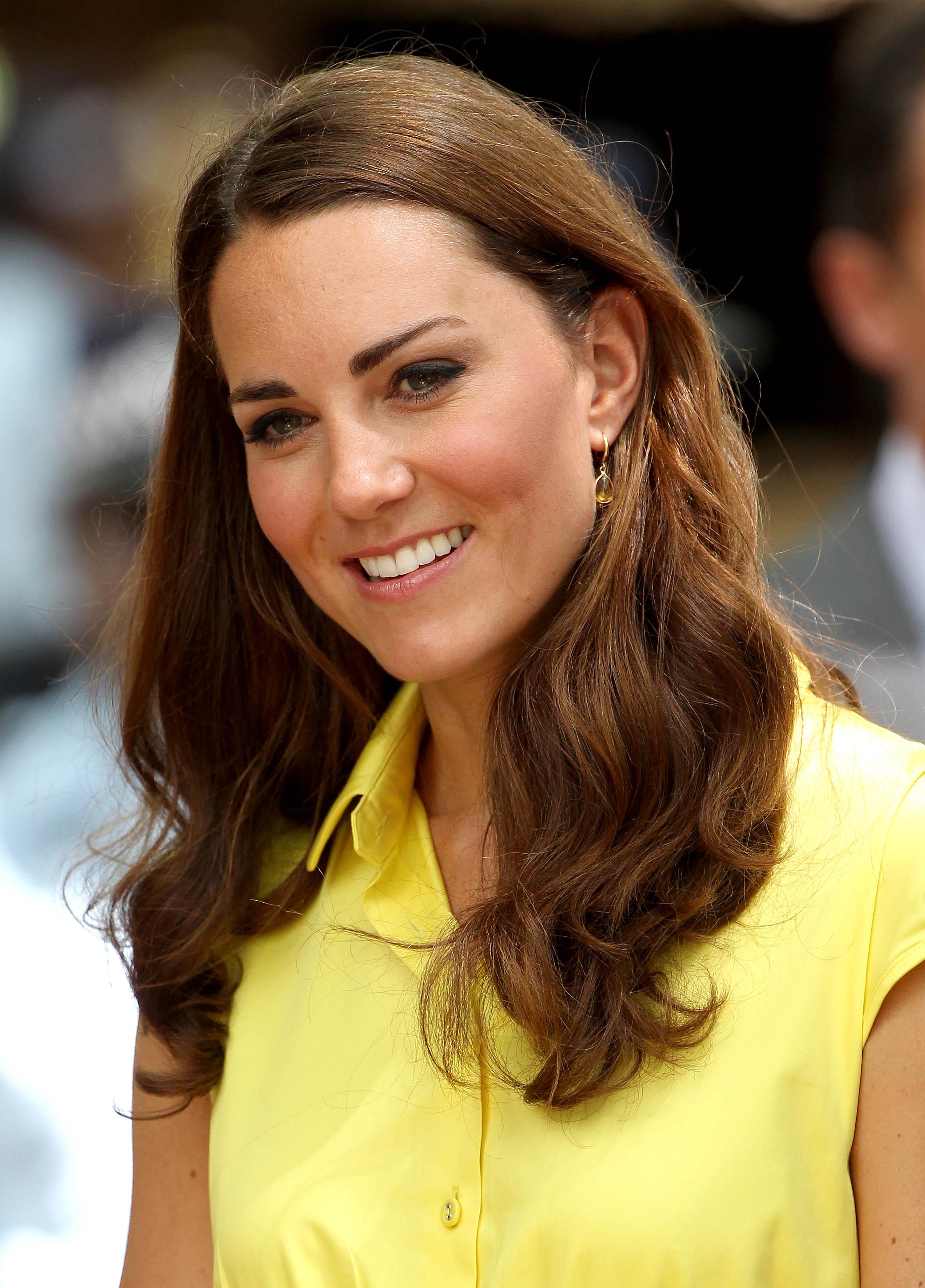 Kate Middleton Yellow Getty