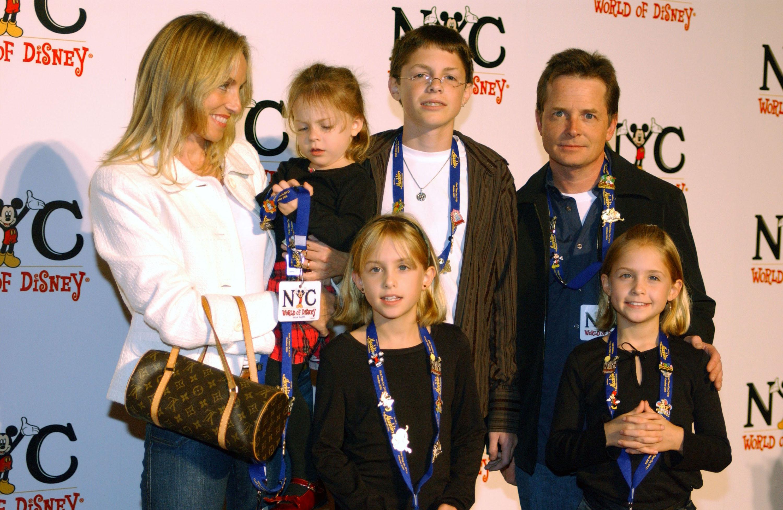 michael j fox family