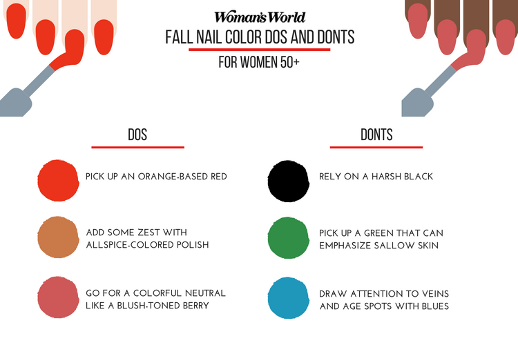 Over 50 Fall Nail Colors Dos and Donts