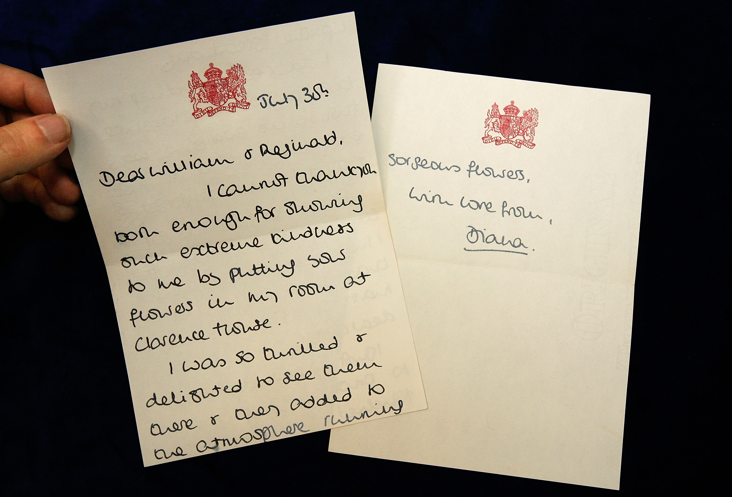 princess diana letters getty
