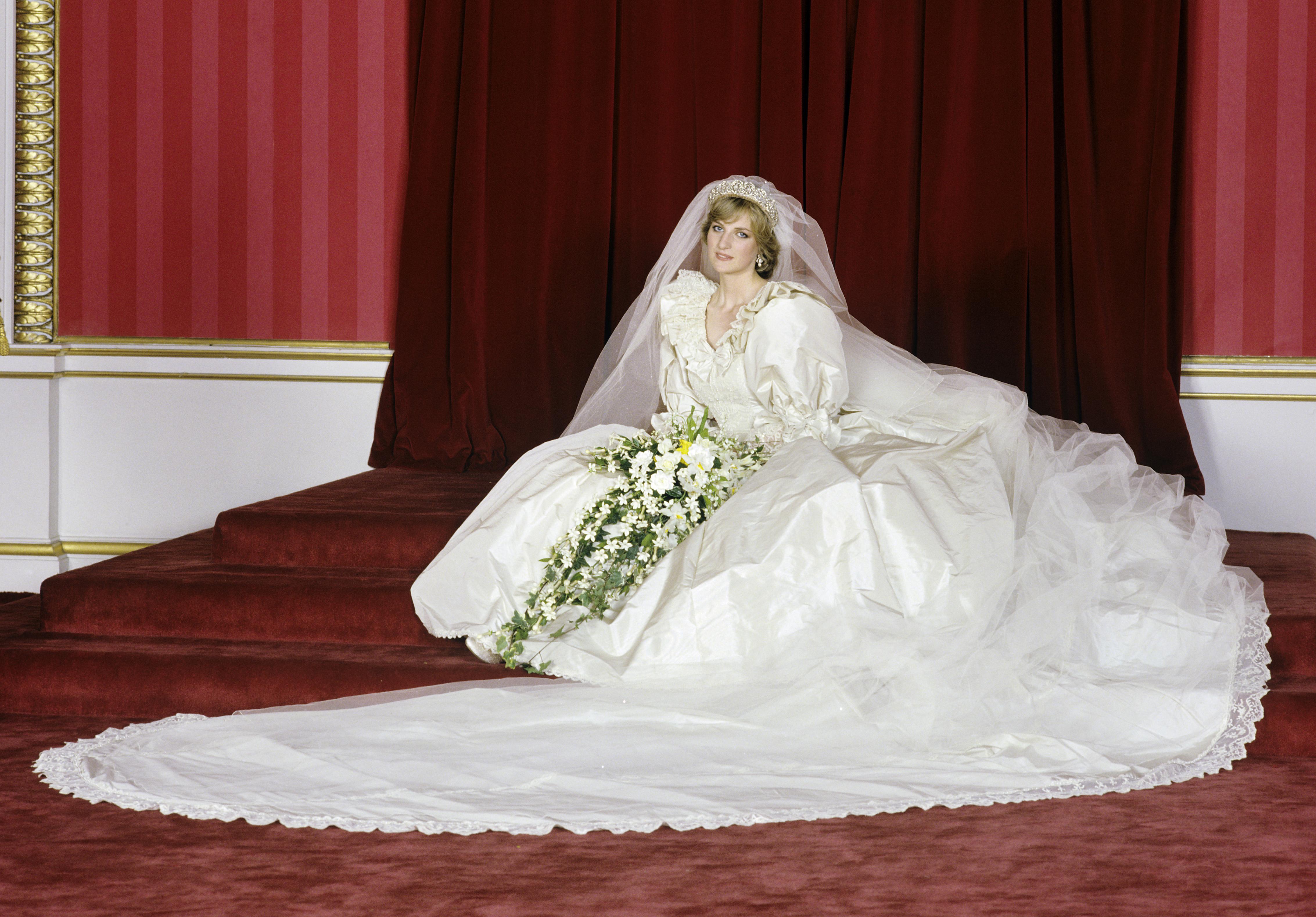 Princess Diana Had A Secret Second Wedding Dress