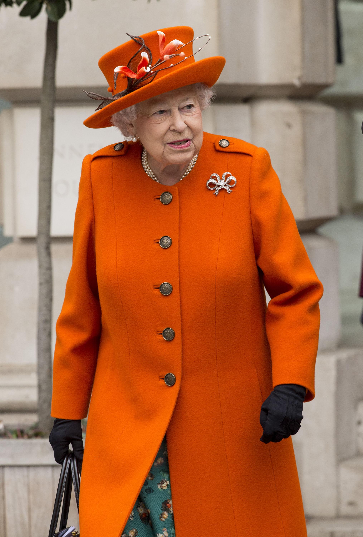 Queen Elizabeth Orange Getty