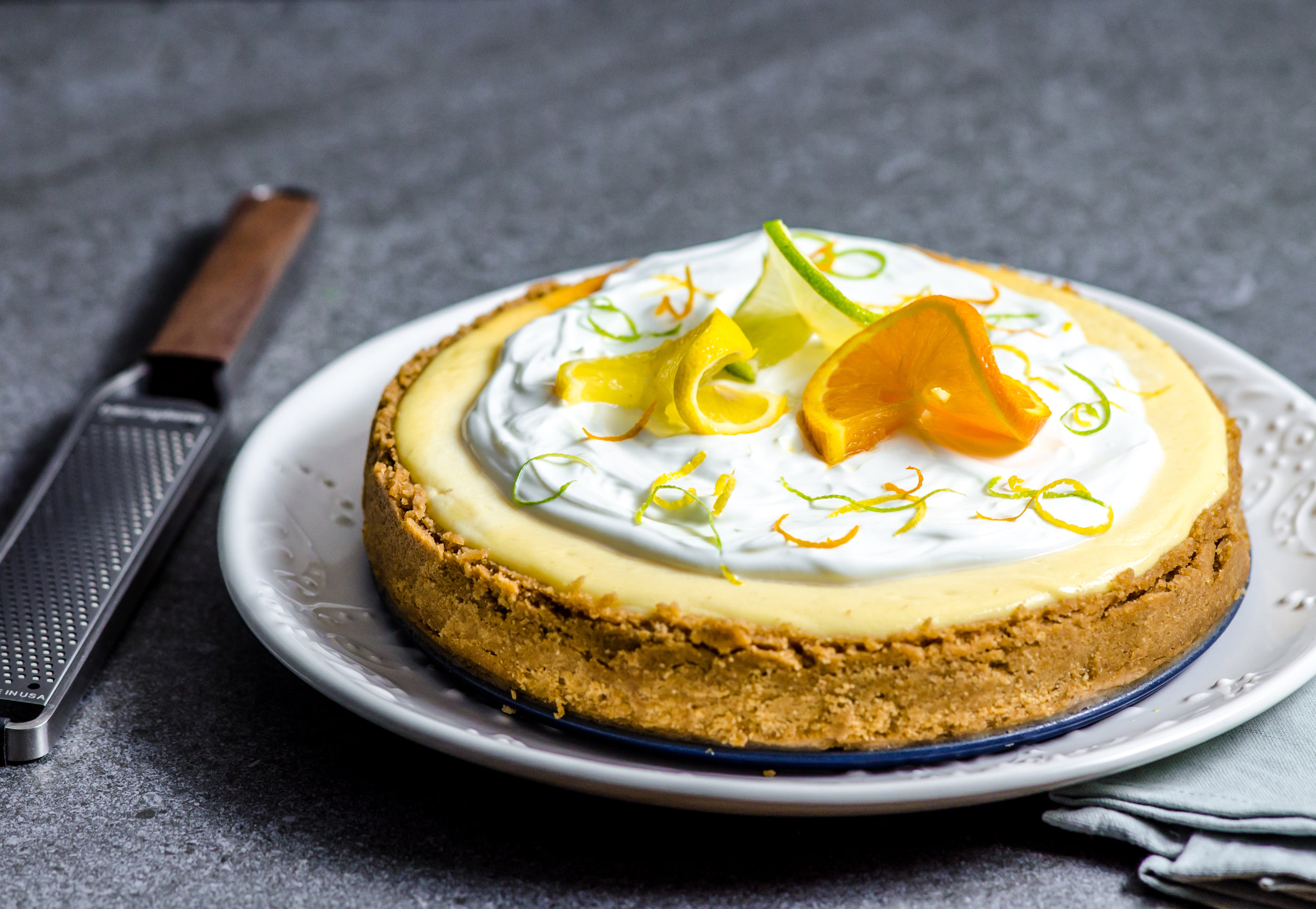 This Zesty Triple Citrus Cheesecake Is an Ideal End-of-Summer Treat - Woman's World