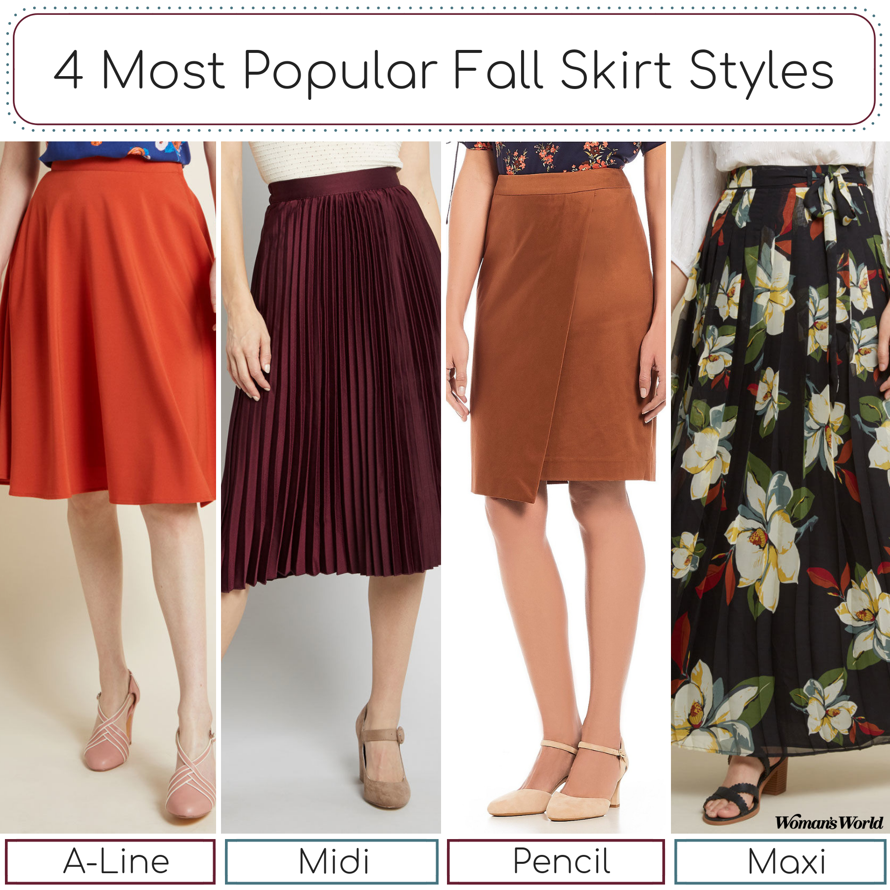 Best Popular Fall Skirt Style