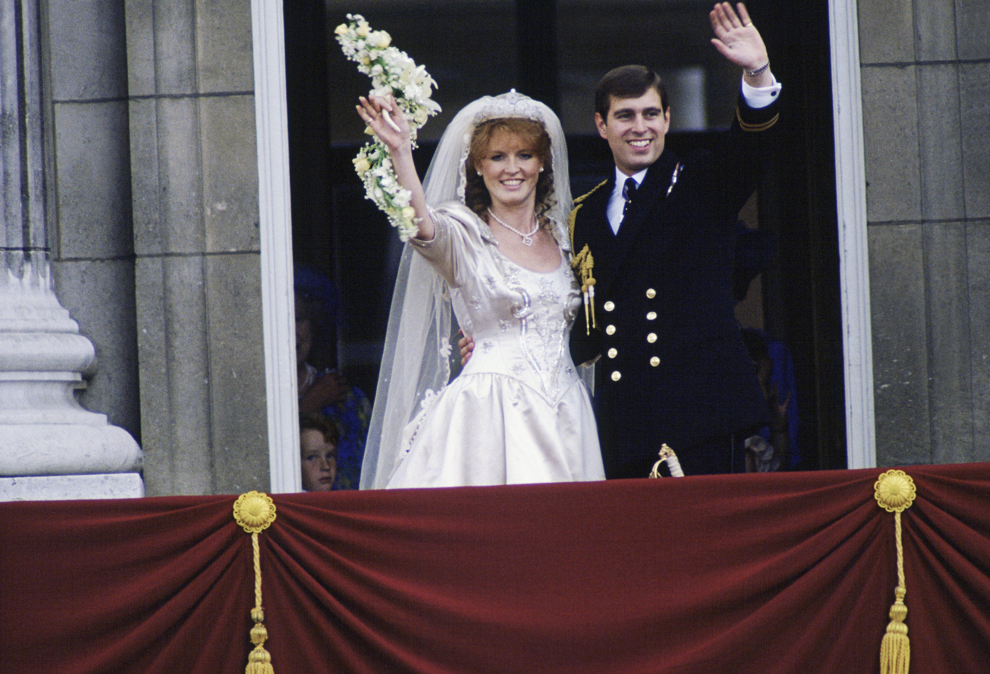 Sarah Ferguson wedding tiara