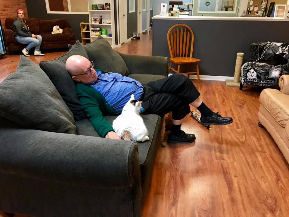 Terry Safe Haven Pet Sanctuary Cat Grandpa
