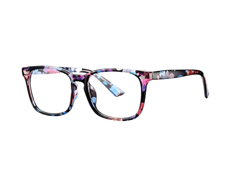 floral eyeglass frames