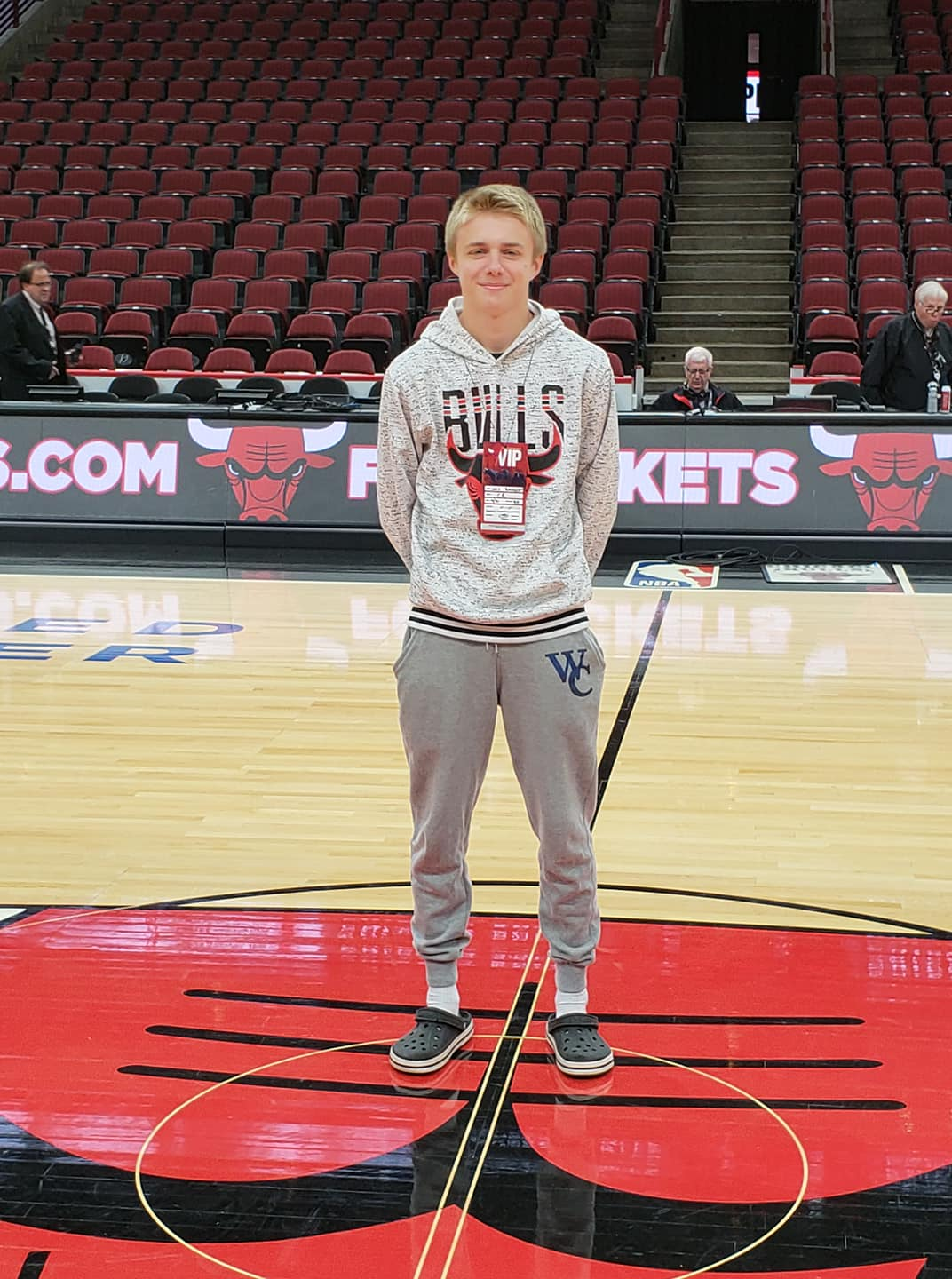Josh Bangert Chicago Bulls Game