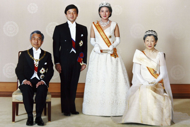 Princes Masako Royal Wedding Dress