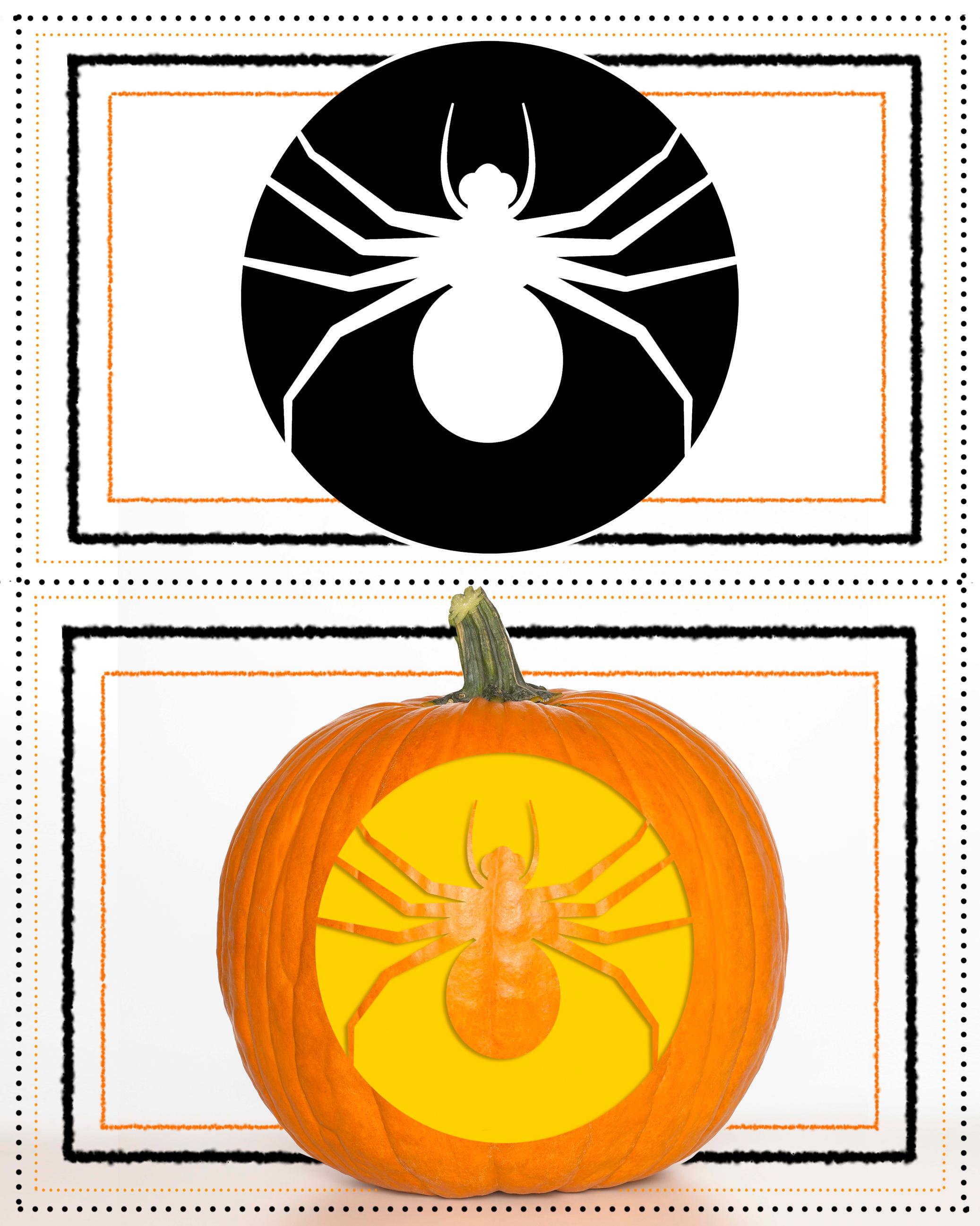 Spider Pumpkin Carving