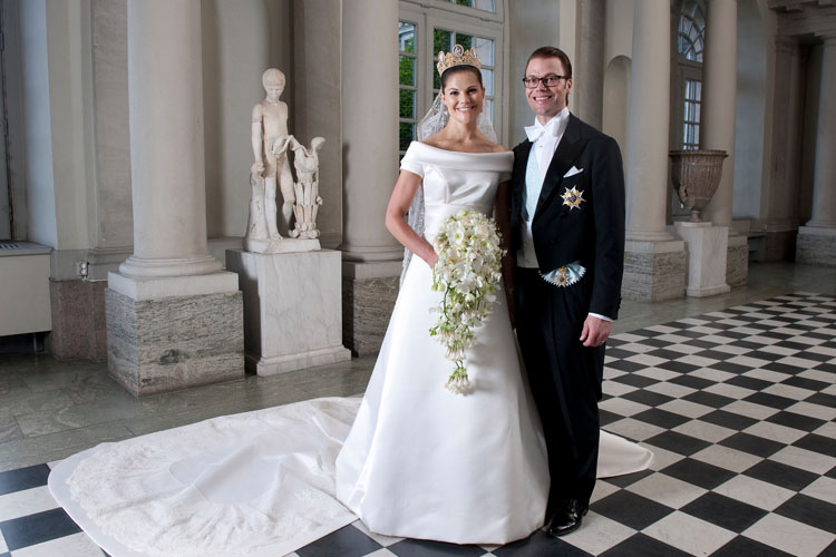 Swedish Crown Princess Wedding Dress
