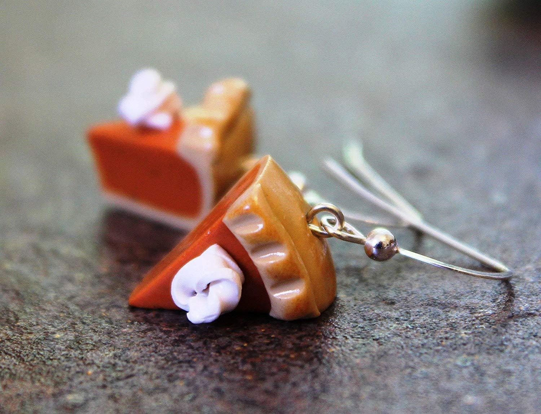 pumpkin pie earrings