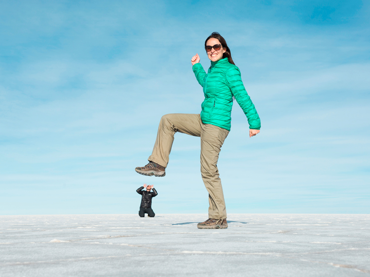 forced perspective images