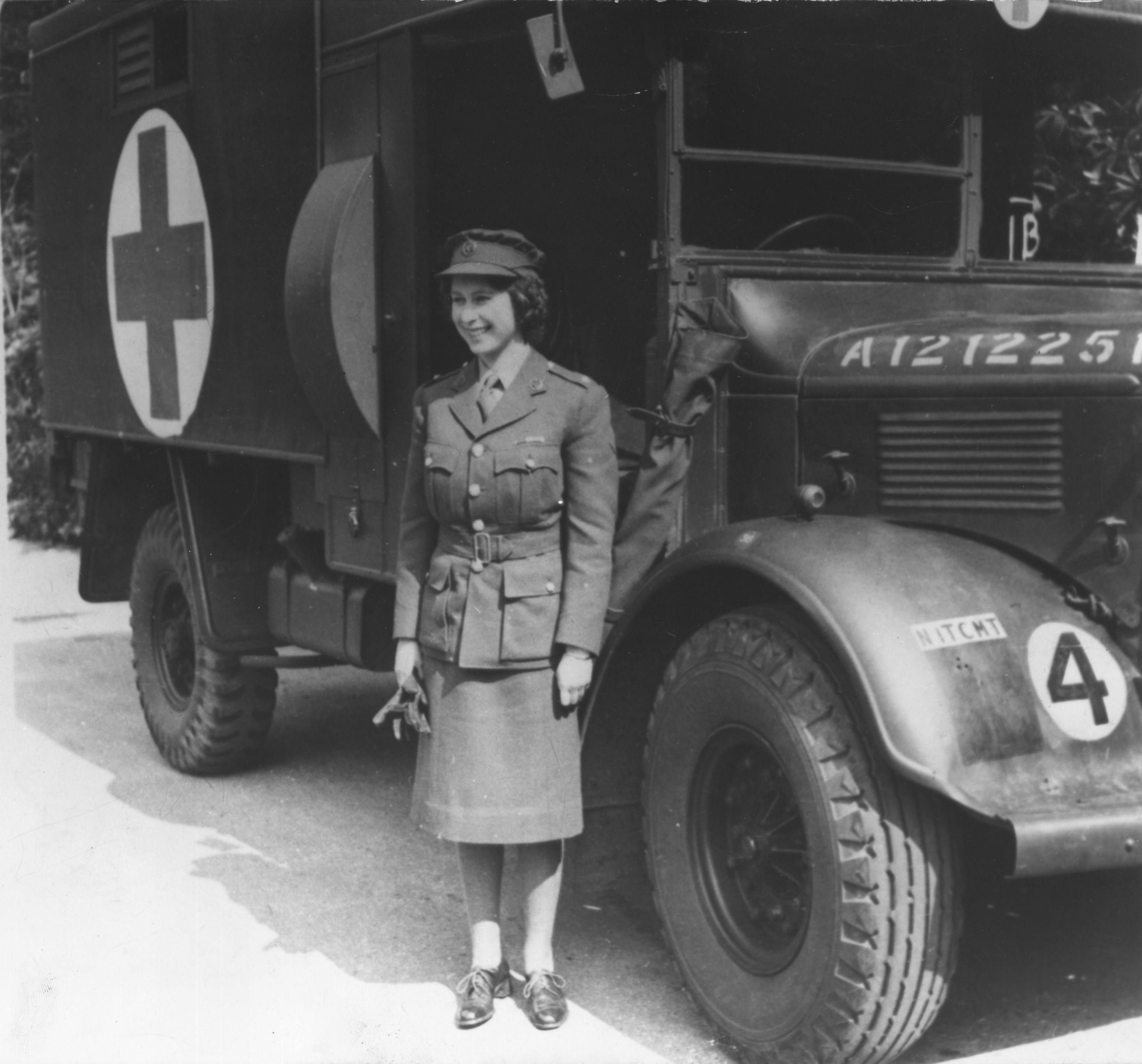 Queen Elizabeth during World War II