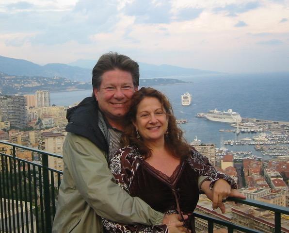 Bobbi Palmer and her husband
