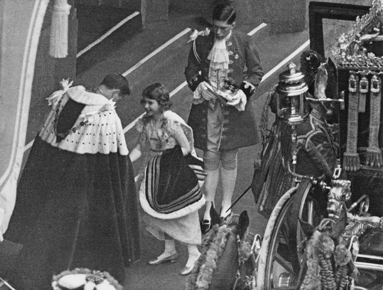 Princess Elizabeth Coronation Getty Images