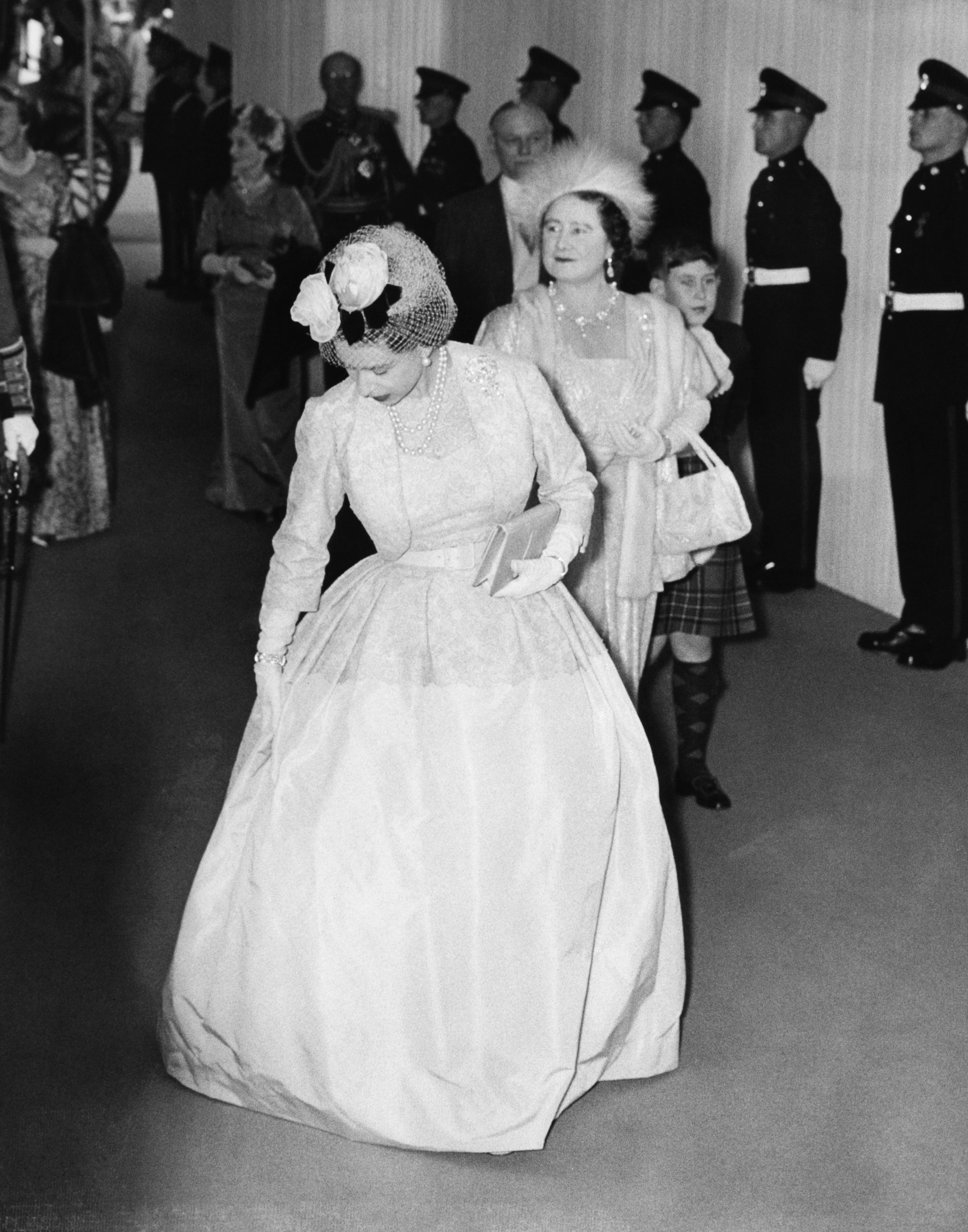 Queen Elizabeth Princess Margaret Getty Images