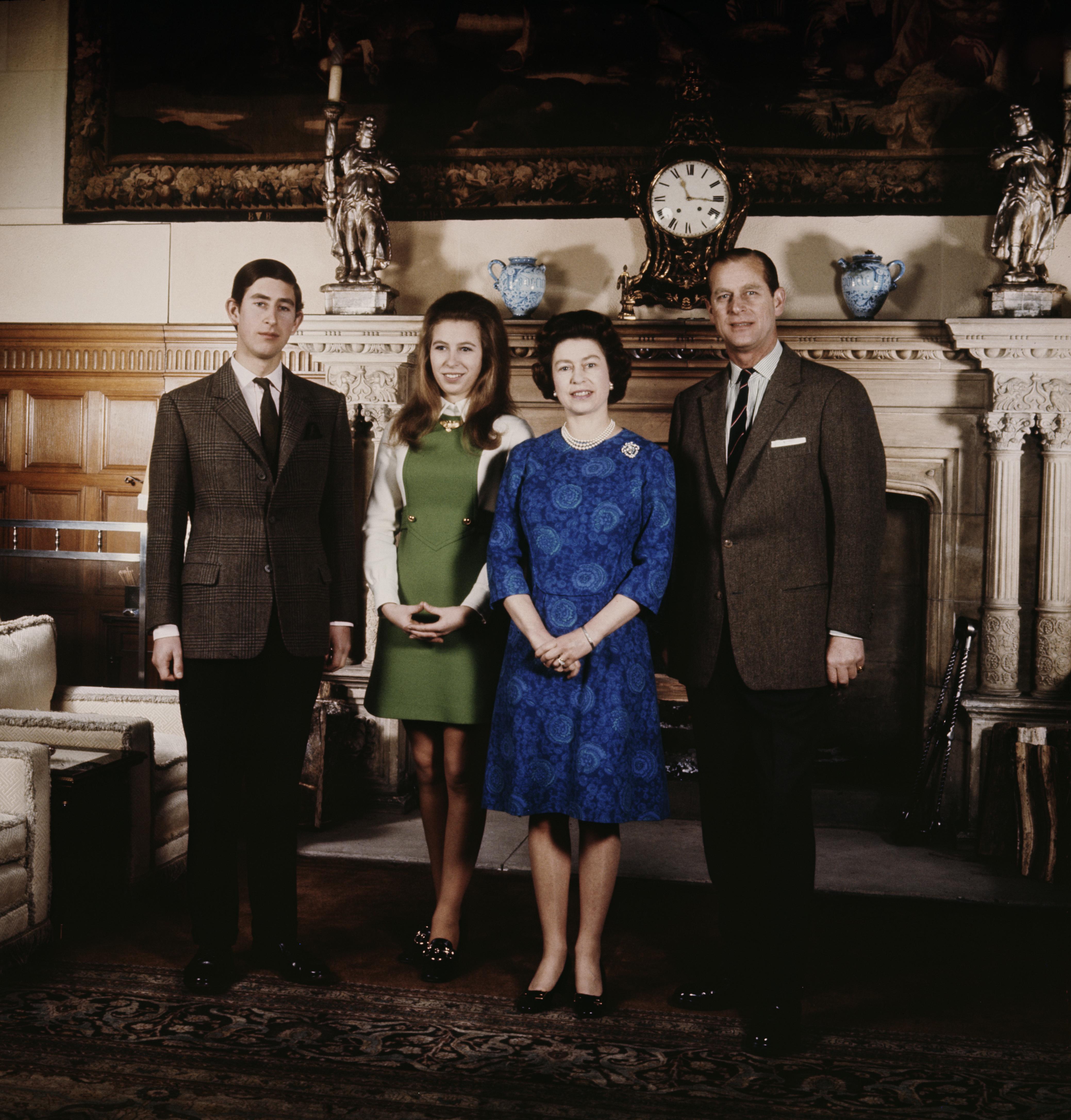 Queen Elizabeth Age 44 Getty Images