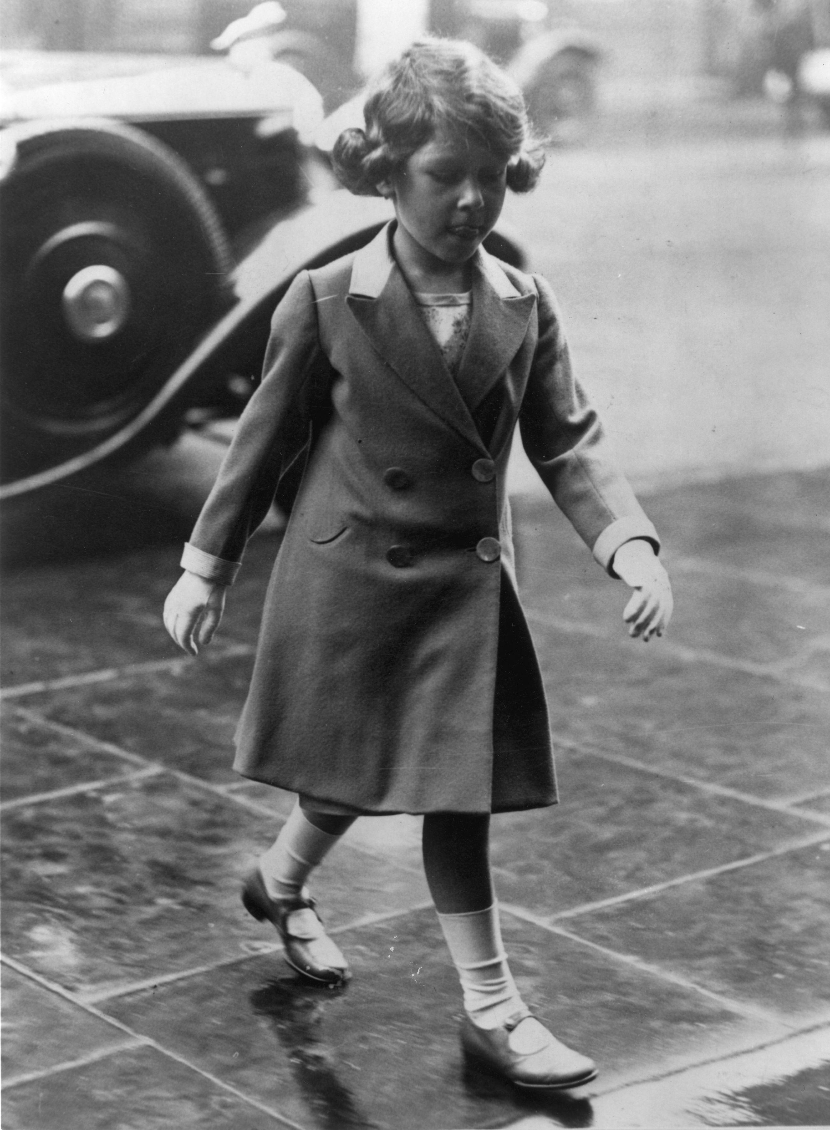 Queen Elizabeth Age 5 Getty Images