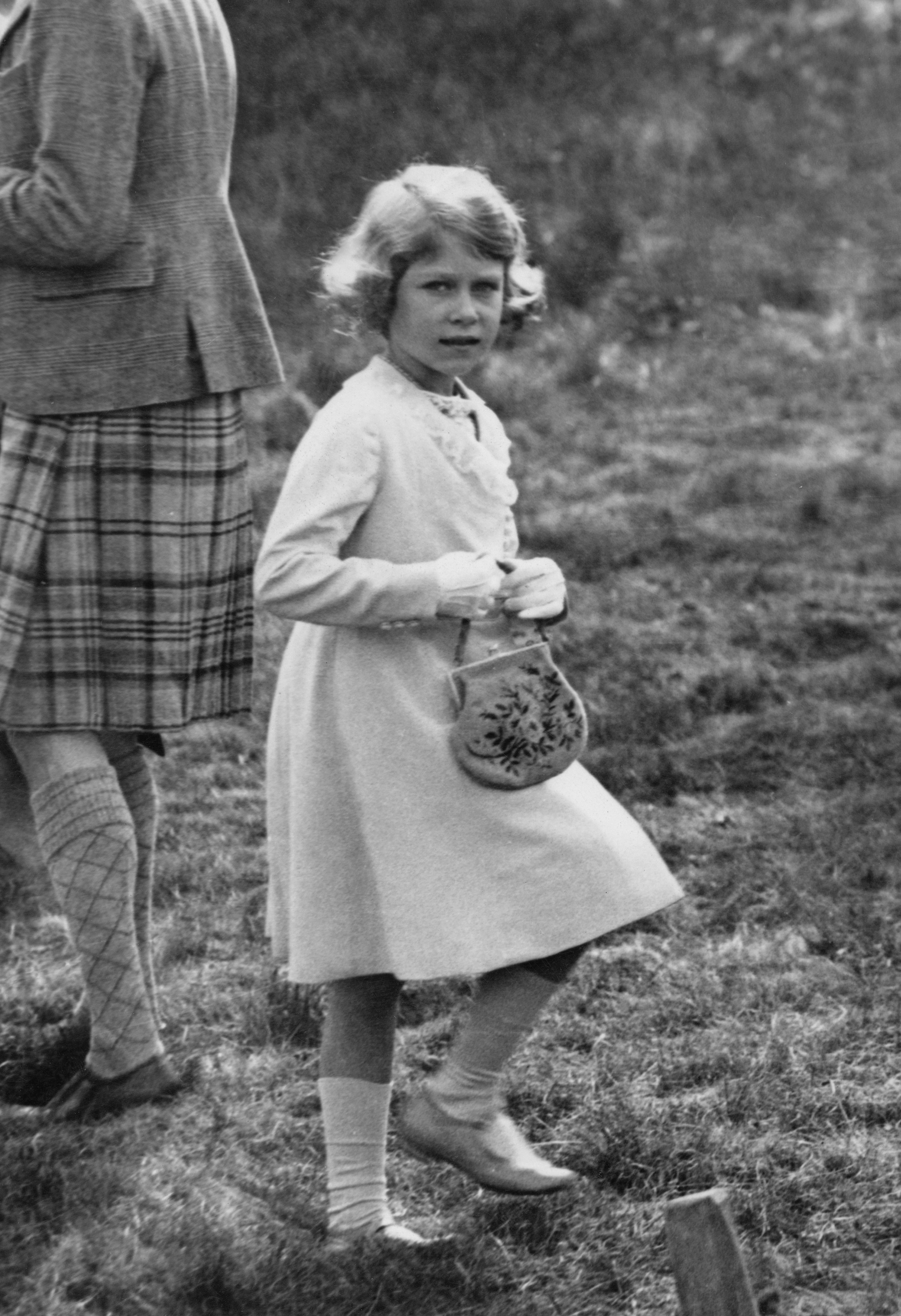Princess Elizabeth Age 7 Getty Images
