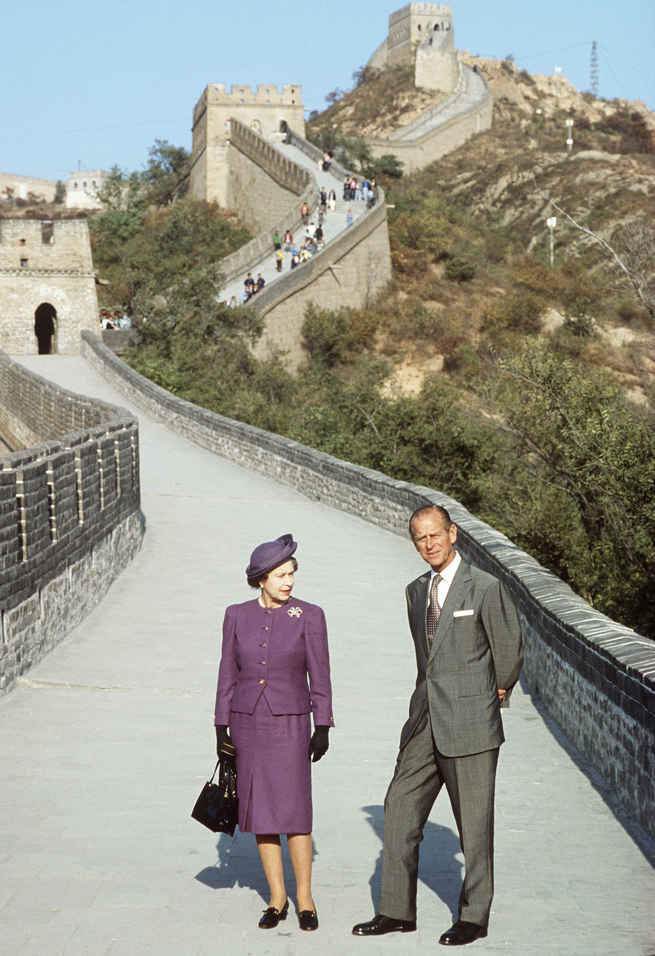 Queen Elizabeth China Getty Images