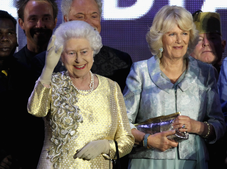 Queen Elizabeth Diamond Jubilee Getty Images