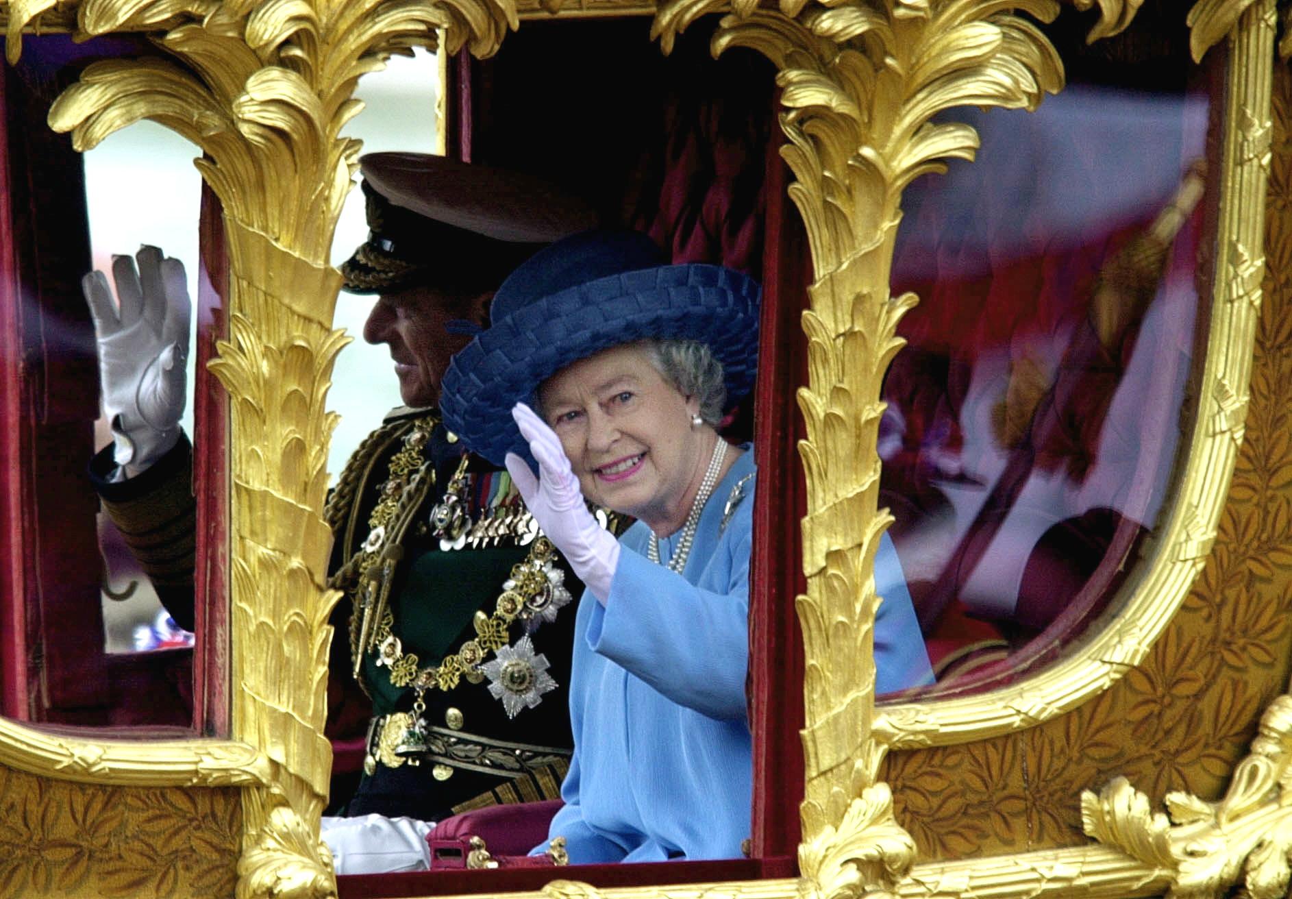 Queen Elizabeth Golden Jubilee Getty Images