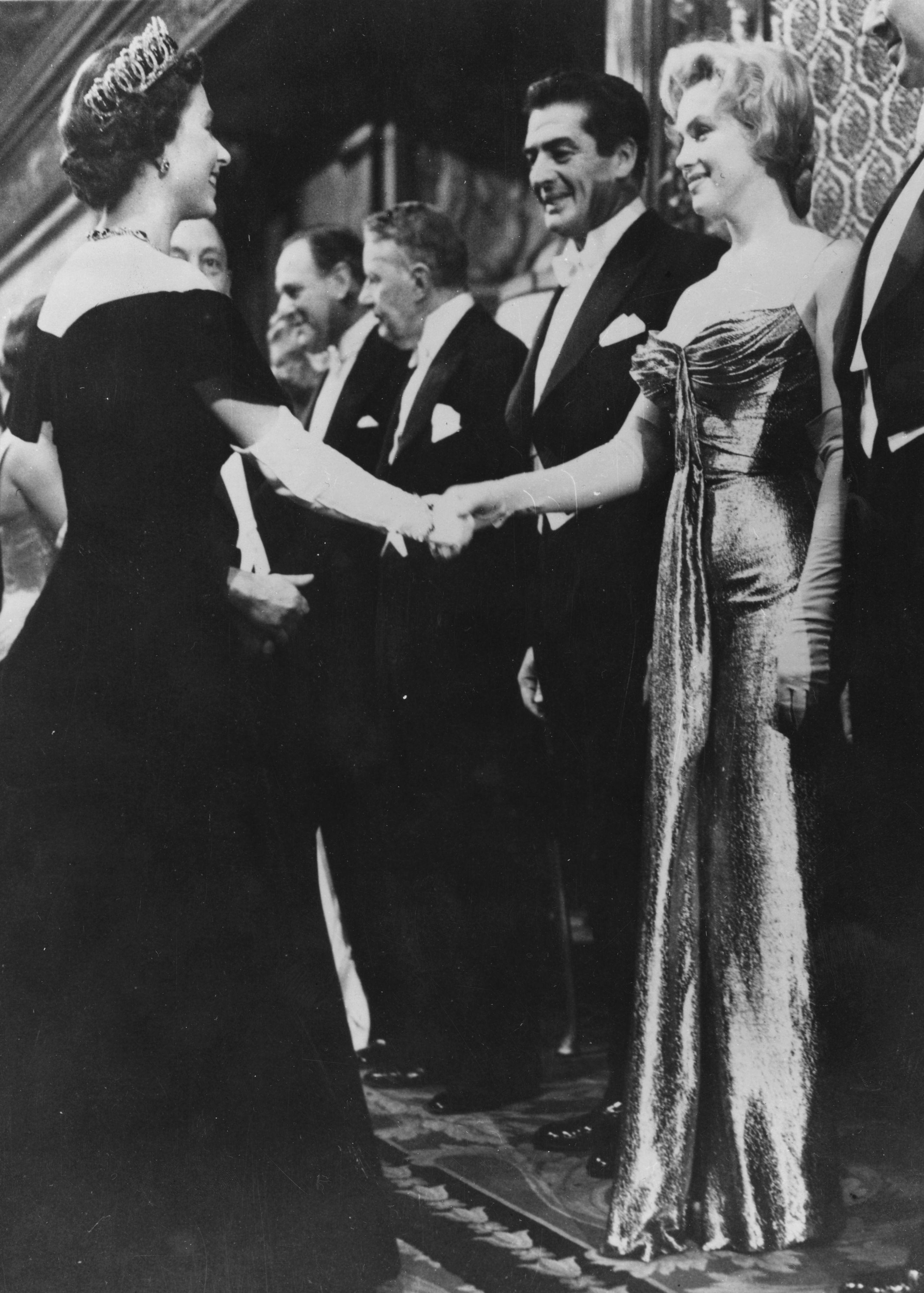Queen Elizabeth Marilyn Monroe Getty Images