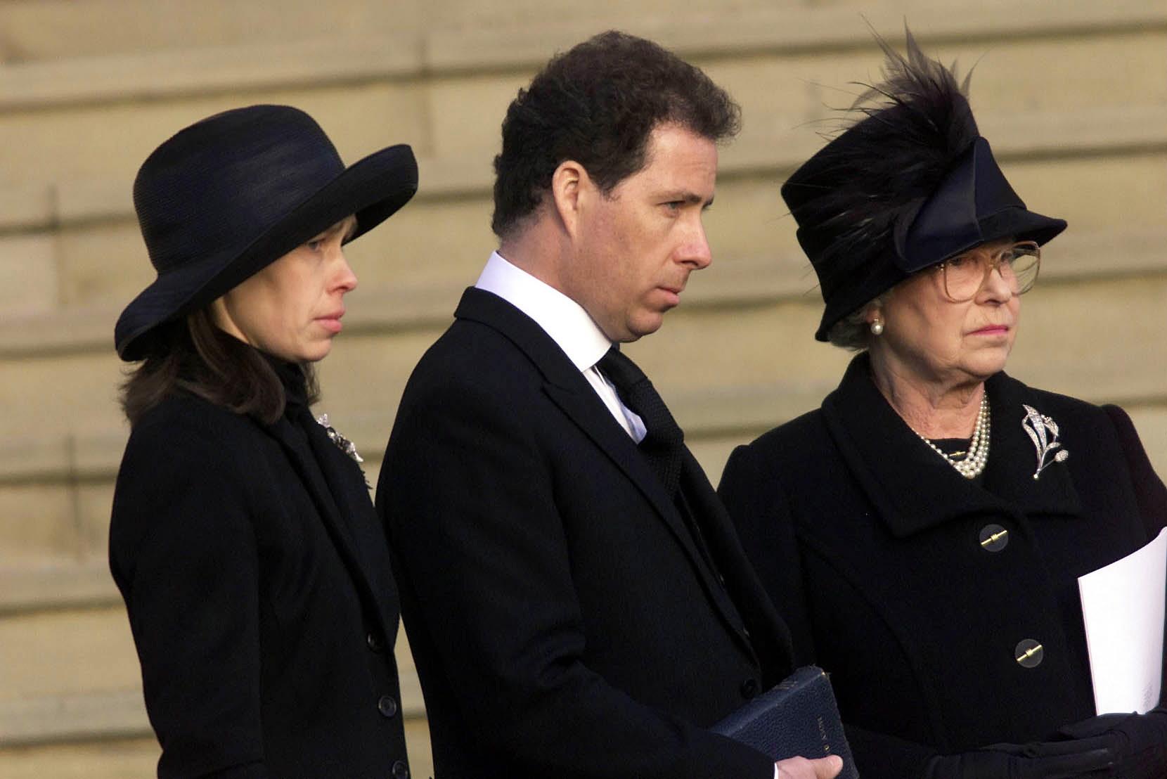 Queen Elizabeth Princess Margaret Funeral Getty Images