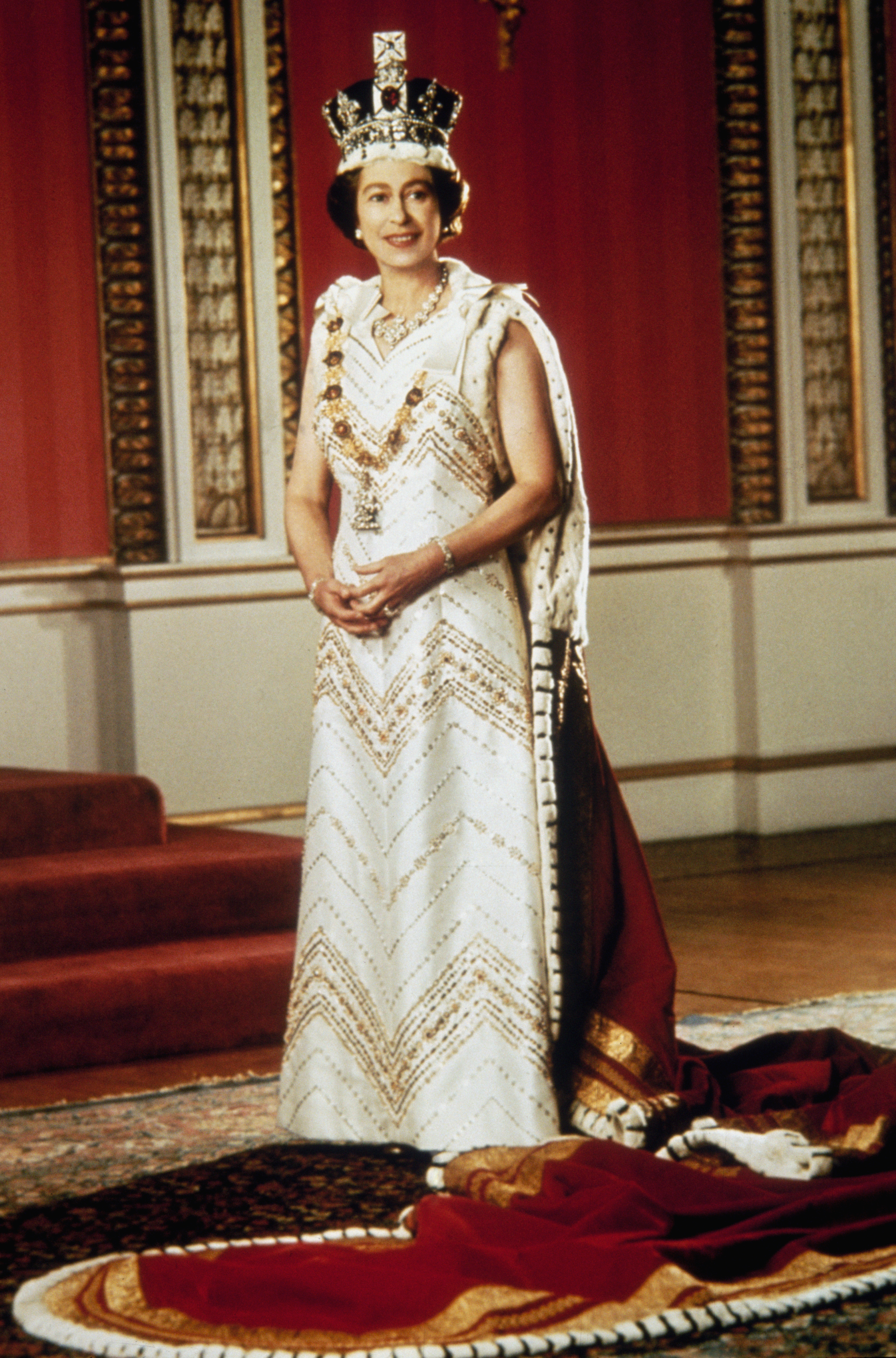 Queen Elizabeth Silver Jubilee Getty Images