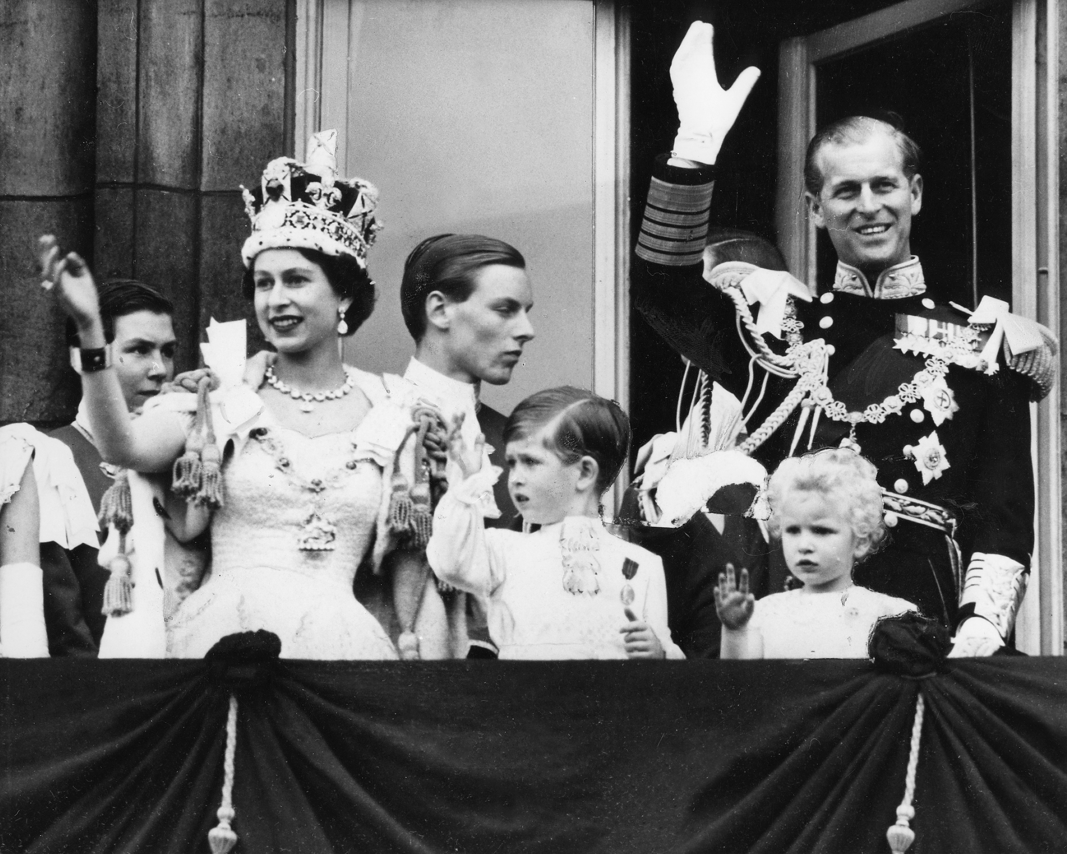 Queen Elizabeth Coronation Getty Images