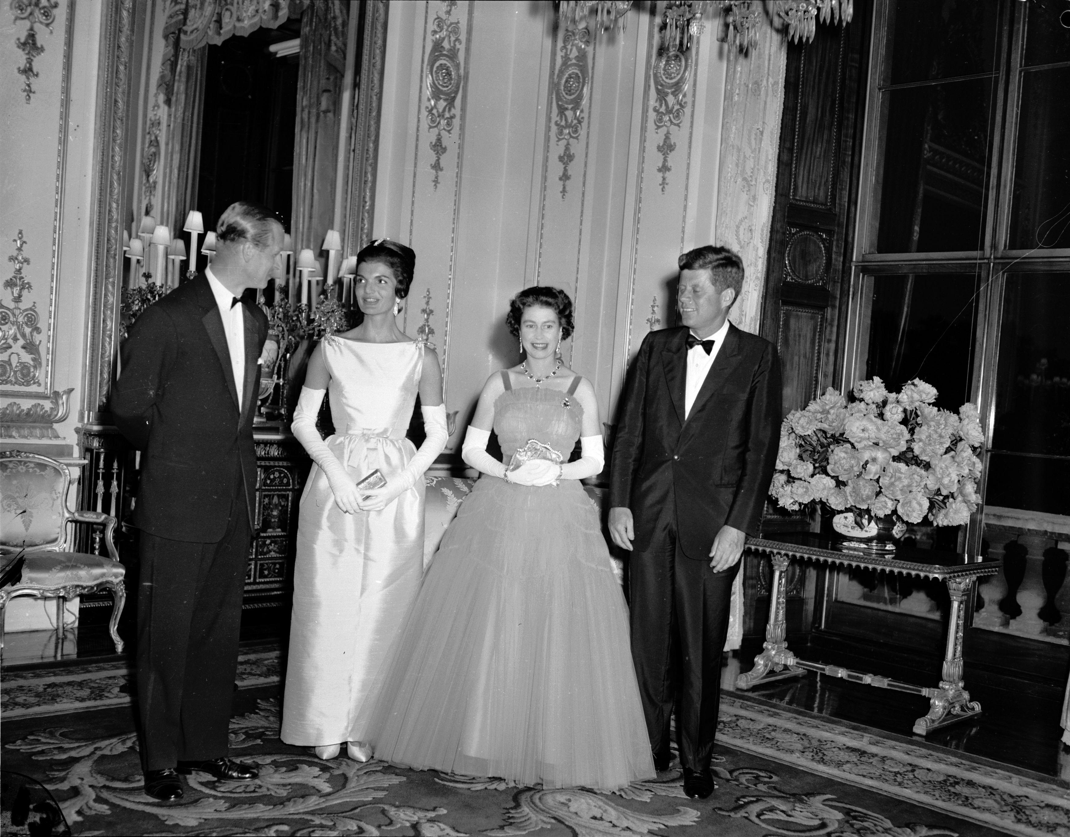 Queen Elizabeth JFK Dinner Getty Images