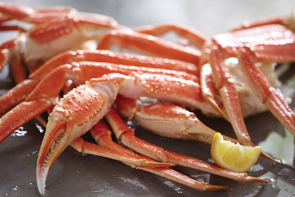 wild-caught snow crab legs red lobster