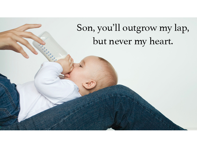 Little Boy Quotes From Mommy Because He Ll Always Be Your Baby