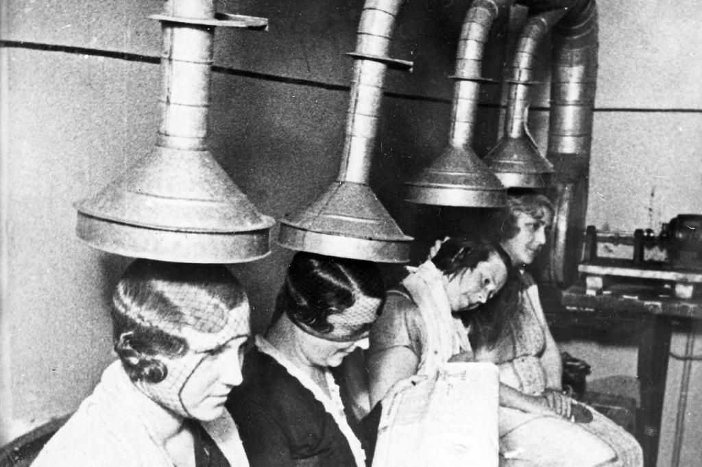 7 Crazy Vintage Hair Dryers