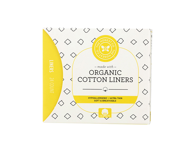 4 the honest company best cotton organic panty liners womans world
