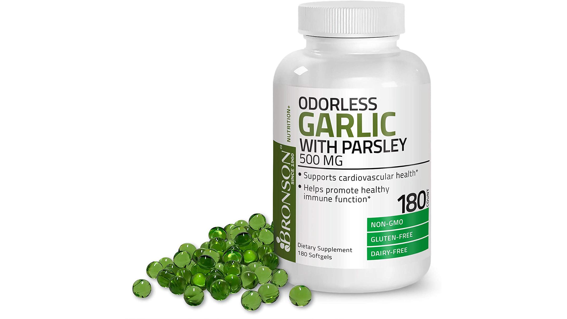 Bronson garlic pills
