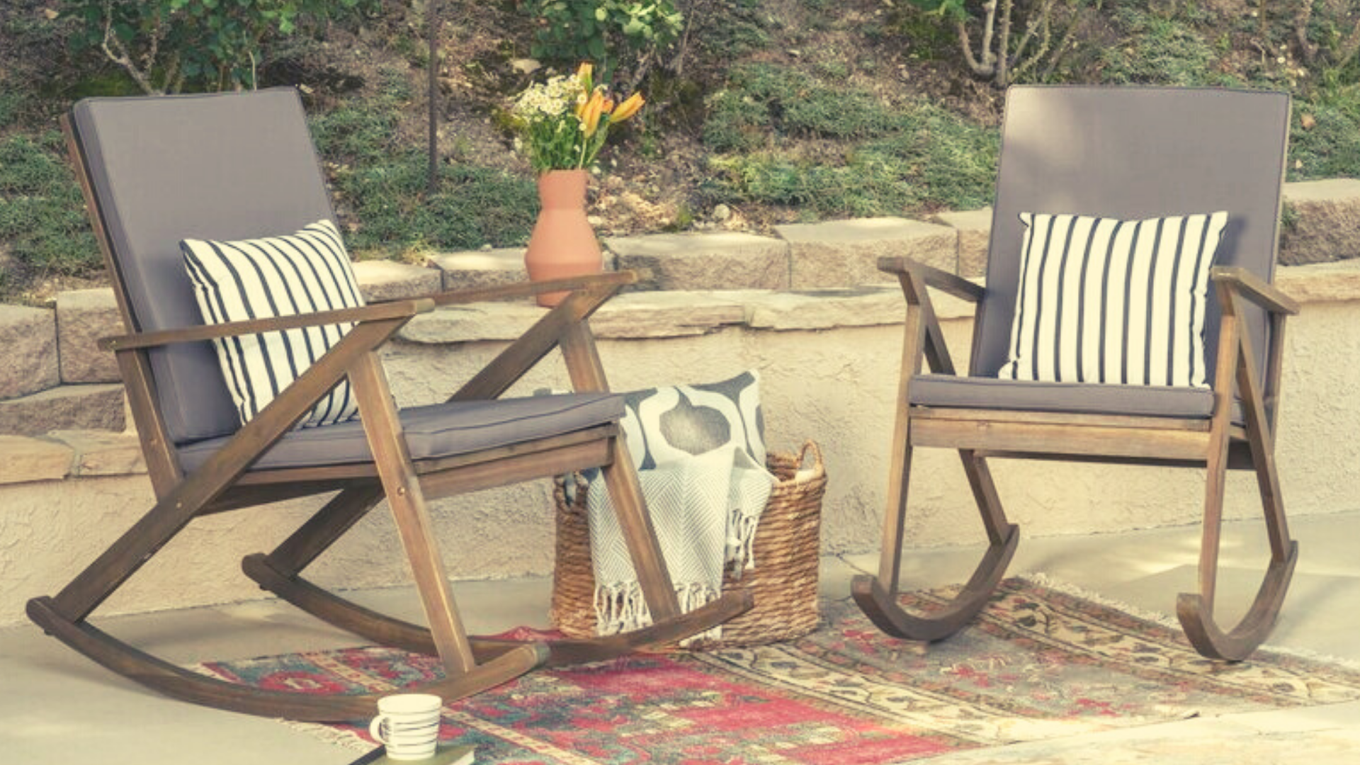 6 Outdoor Rocking Chairs to Relax in All Summer Long